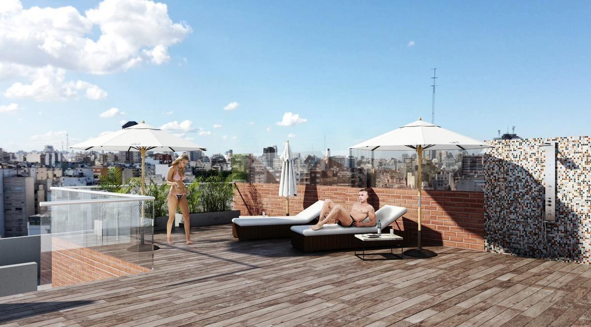 excelente 2 ambientes en construcción  en parque patricios apto profesional
