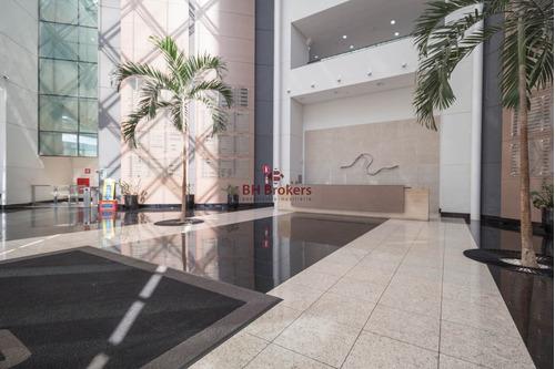 excelente andar comercial 520m² em prédio de alto luxo no vila da serra - 14081