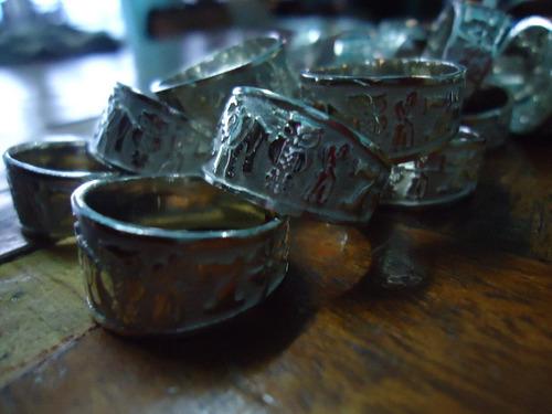 excelente anillo de la suerte en plata ley .925