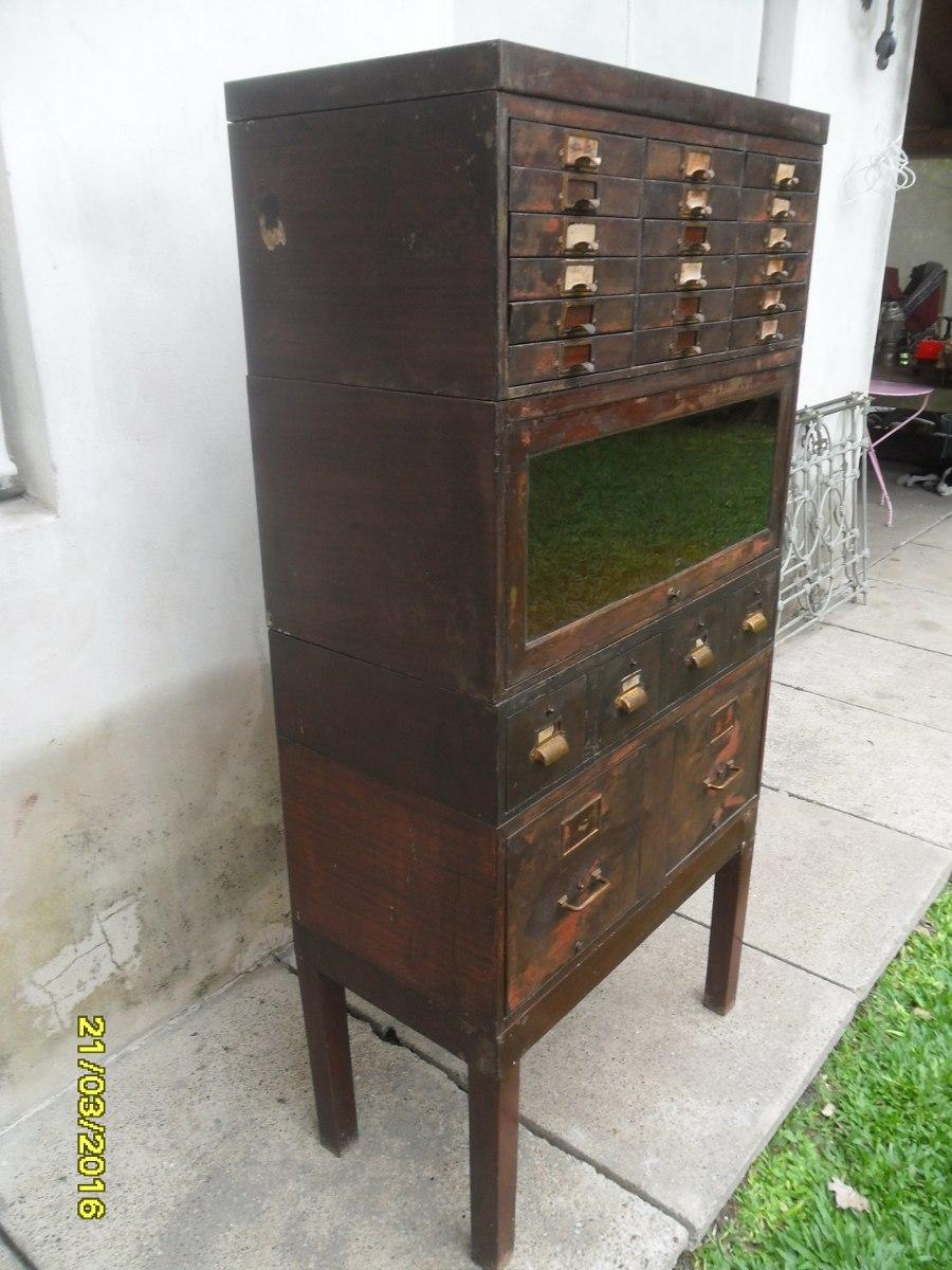 Fichero Antiguo En Mercado Libre Argentina # Muebles Ficheros