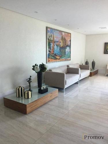 excelente ap. no edf. mansão ouro negro à venda com 158 m² - jardins - aracaju/se - ap0570