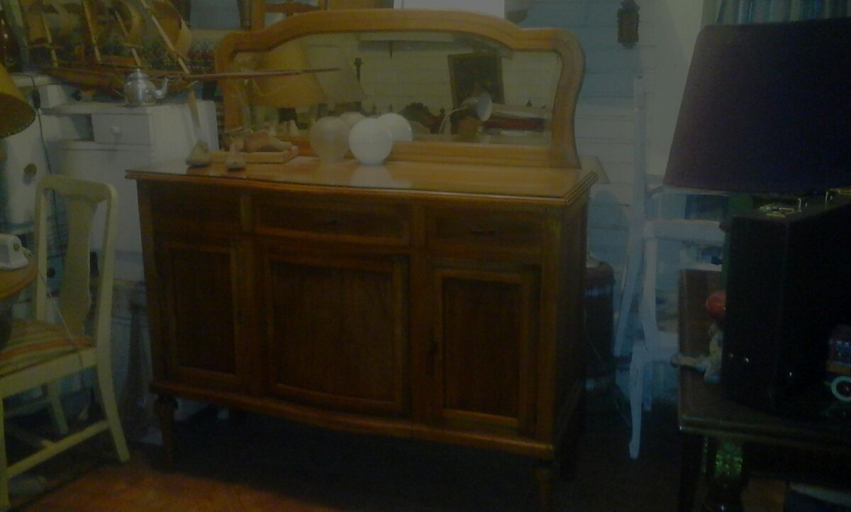 Artesanato Em Madeira Frases ~ Excelente Aparador Antiguo $ 420 000 en Mercado Libre