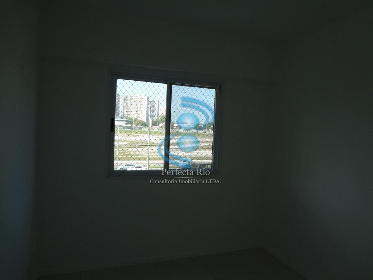 excelente apartamento 03 quartos, 87m², 02 vagas - recreio
