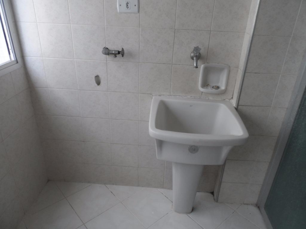 excelente apartamento 1 dormitório com varanda - astúrias - guarujá - ap1136