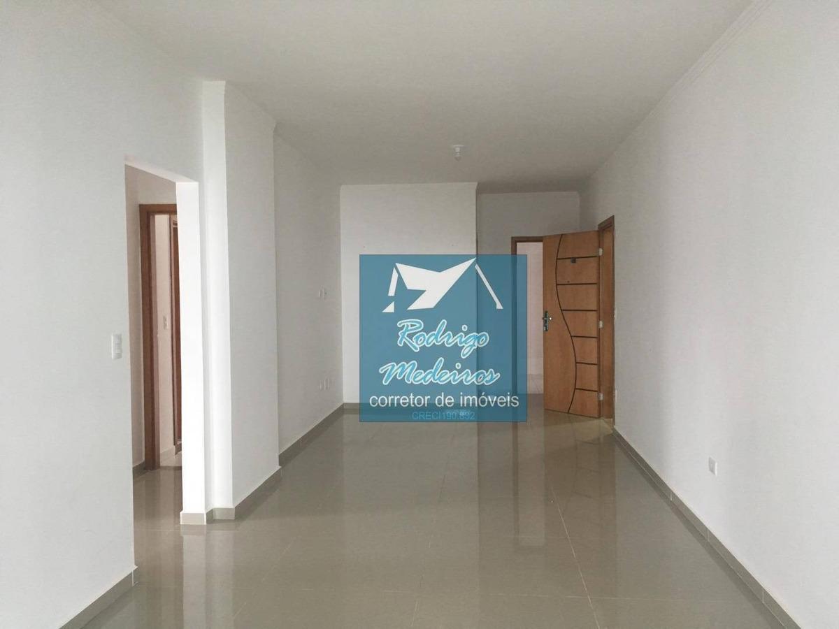 excelente apartamento 2 dormitórios alto padrão frente mar - ap0113