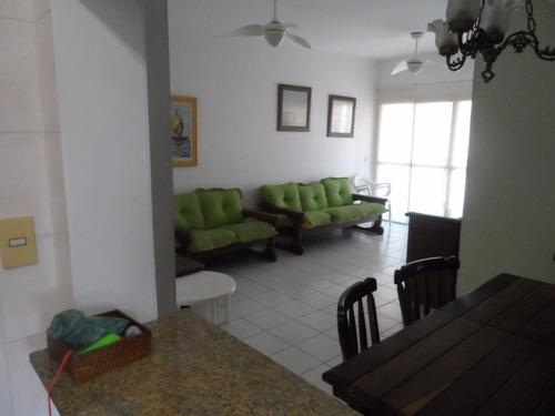 excelente apartamento 2 dormitórios com lazer - astúrias - guarujá - ap1175