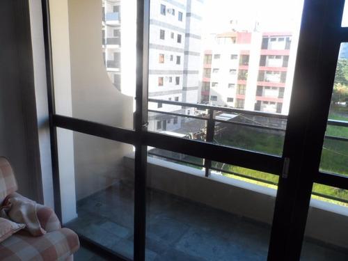 excelente apartamento 2 dormitórios - praia do tombo - guarujá - ap1179