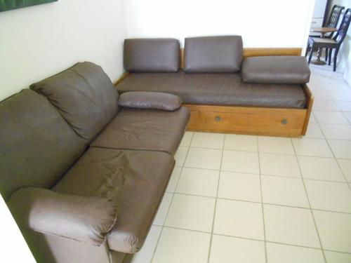 excelente apartamento 2 dormitórios - sem garagem - pitangueiras - guarujá - ap0968