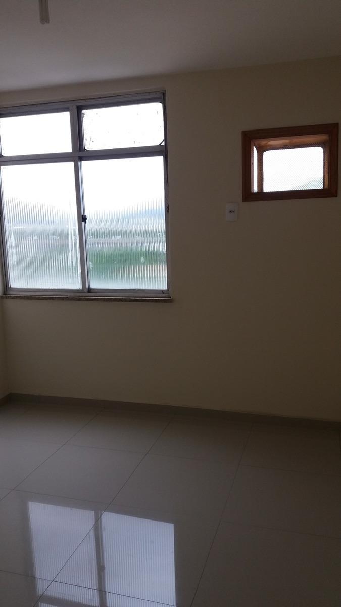 excelente apartamento 2 quartos no centro de campo grande-rj
