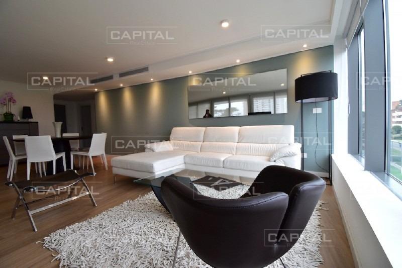 excelente apartamento 3 dormitorios en suite punta del este + alexander -ref:26953