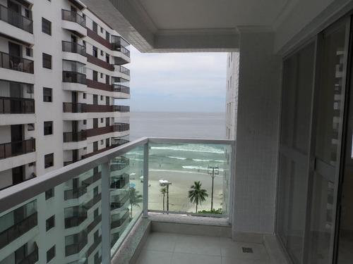 excelente apartamento 3 suítes com vista mar - astúrias - guarujá - ap1114