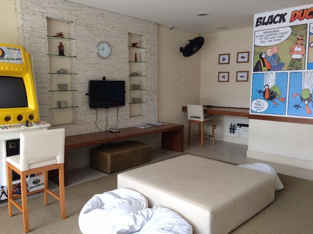 excelente apartamento 3 suítes mais suíte de empregada - astúrias - guarujá - ap1040