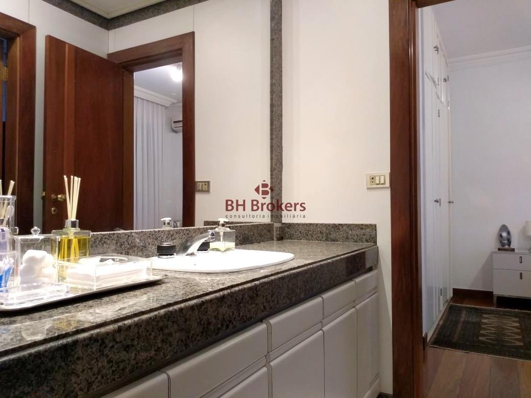 excelente apartamento 4 quartos 260m² próximo ao minas tenis clube no lourdes - 17303