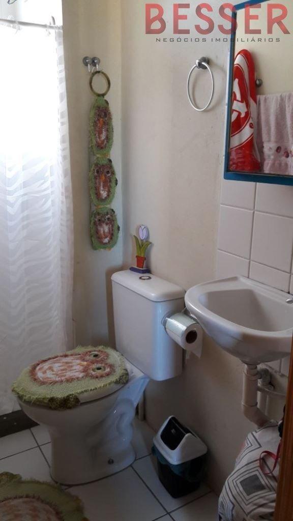 excelente apartamento com 2 dormitorios | sapucaia - v-755