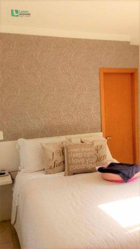 excelente apartamento com 3 dormitórios, pronto para entrar, junto ao shopping santana park. - ap0773