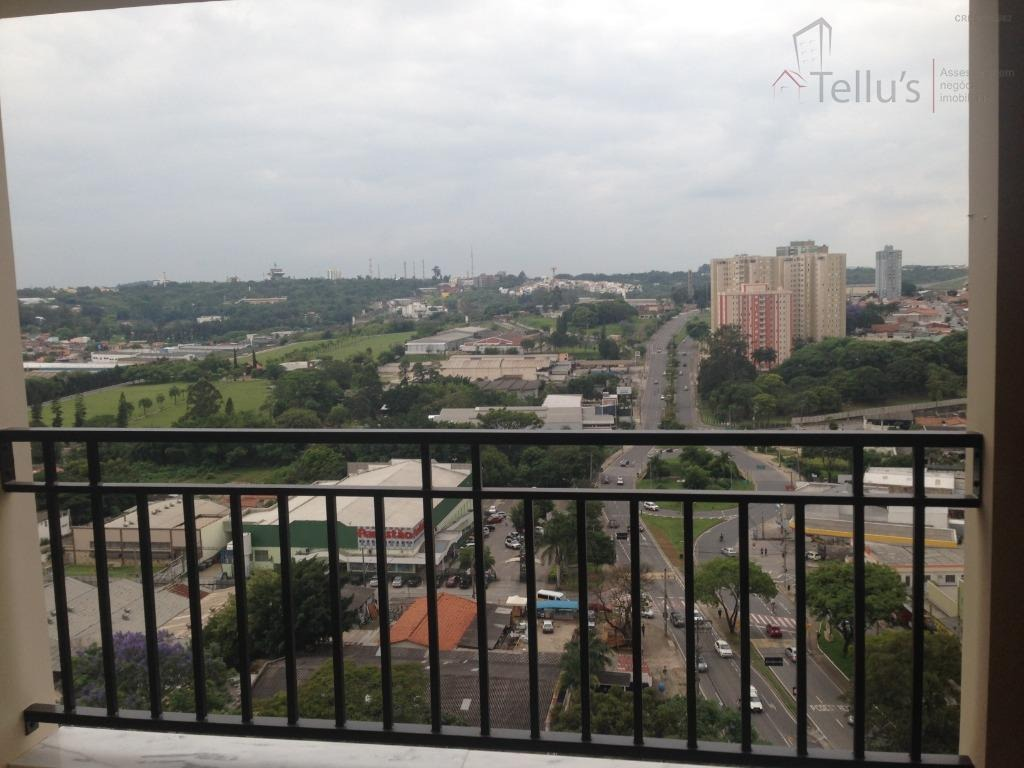 excelente apartamento com 3 dormitórios à venda, 96 m²  além ponte - sorocaba/sp residencial montpellier - ap0259