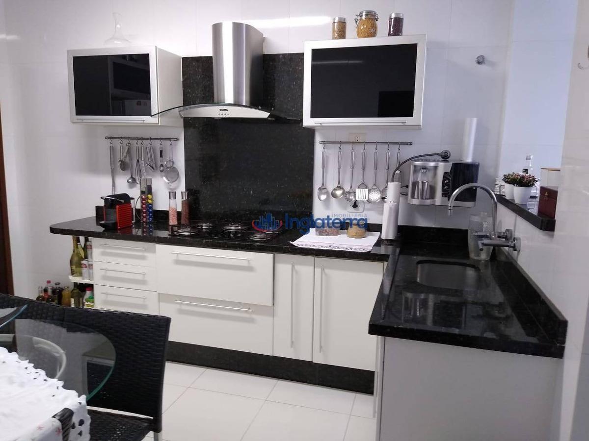 excelente apartamento com  sala, cozinha,3 dormitórios à venda, 94 m² por r$ 330.000 - vila ipiranga - londrina/pr - ap0967