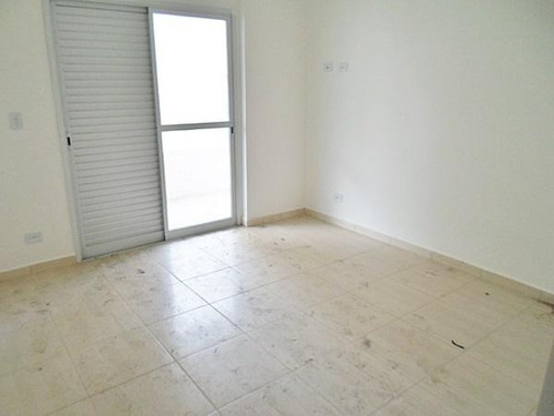 excelente apartamento com vista  e á 200mda praia, lazer completo vila guilhermina, praia grande - ap0444. - ap0444