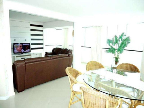 excelente apartamento com vista para o mar!!! - av076 - 3295757