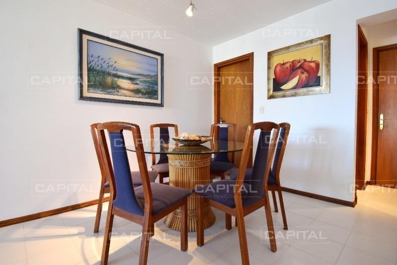 excelente apartamento con vista a playa brava - 2 suites-ref:26777