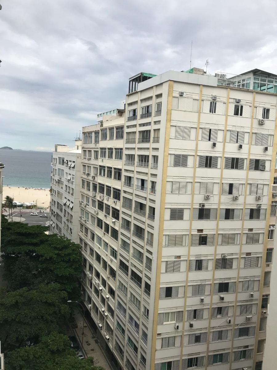 excelente apartamento copacabana, 3 quartos e 1 suíte ci1781