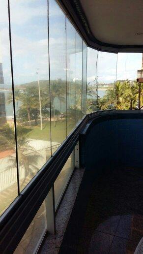 excelente! apartamento de 3 quartos suite de frente pro mar - 1380