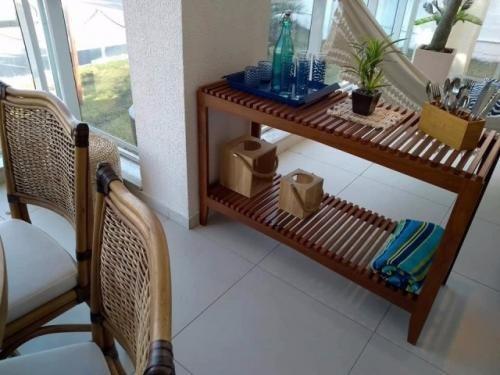 excelente apartamento decorado na praia do sonho em itanhaém