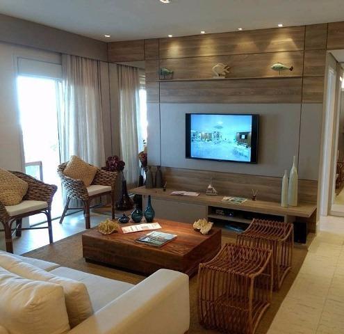 excelente apartamento decorado na praia do sonho - ref 3525