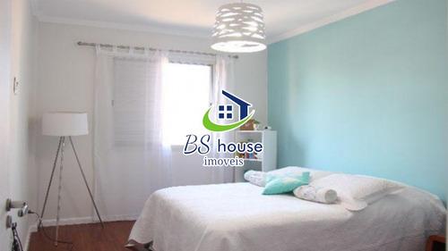 excelente apartamento  decorado na vila guiomar - 5854
