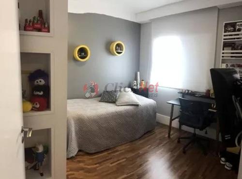 excelente apartamento em condomínio padrão para venda no bairro barcelona em são caetano - 5155