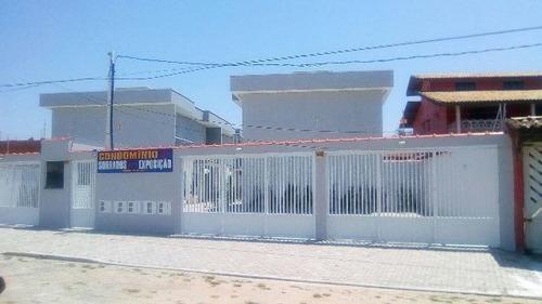 excelente apartamento em itanhaém 100m do mar - ref 3454