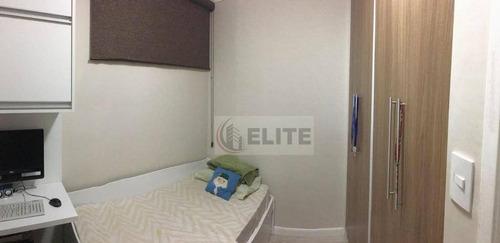 excelente apartamento em utinga - 64m2 - lazer e portaria 24h - ap8057