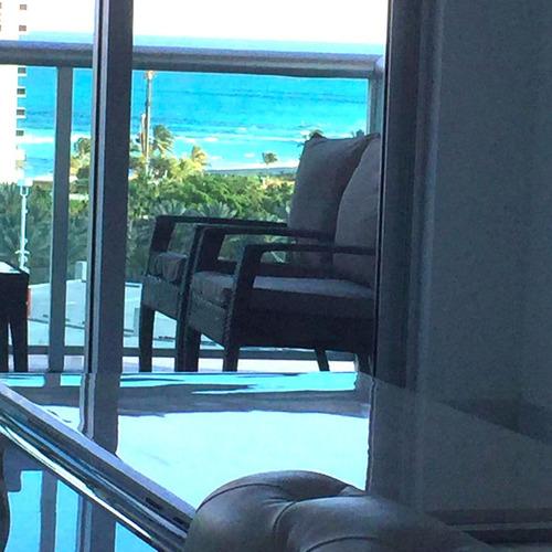 excelente apartamento frente al mar sunny isles