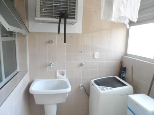 excelente apartamento frente ao mar 4 dormitórios - astúrias - guarujá - ap1099