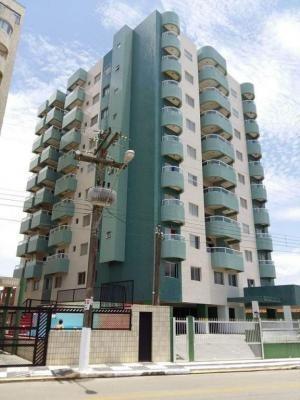 excelente apartamento frente ao mar, mongaguá, ref. 6599 m h
