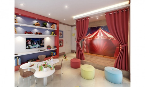 excelente apartamento happiness - bairro campestre - 335