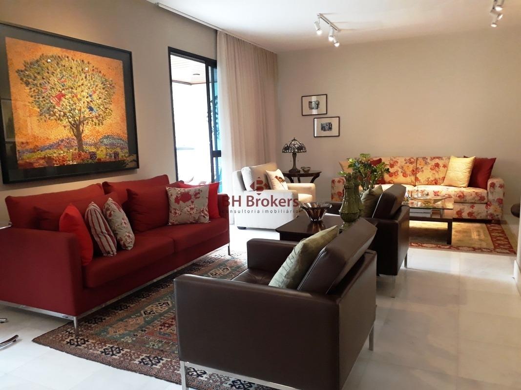 excelente apartamento na serra 4 quartos - 13211