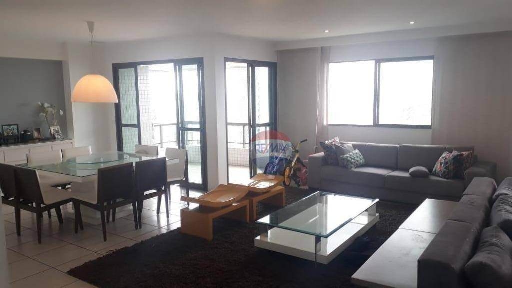 excelente apartamento na torre, 4 suítes, vista privilegiada, anda alto! - ap1032