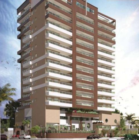 excelente apartamento no centro, em mongaguá - ref 3258