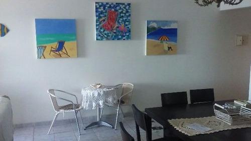 excelente apartamento no centro, em mongaguá - ref 4051