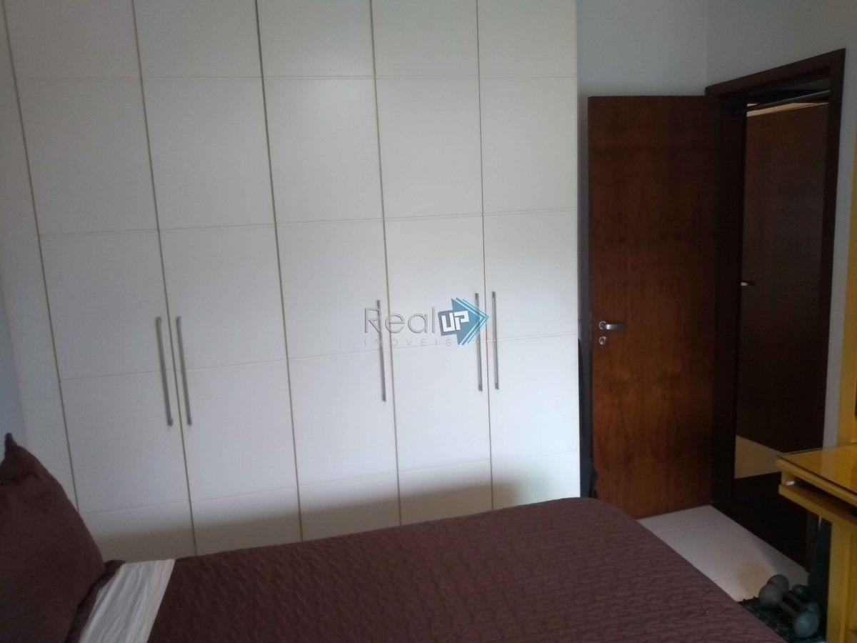 excelente apartamento no leblon com 2 vagas de garagem , com infra e serviços - 16359