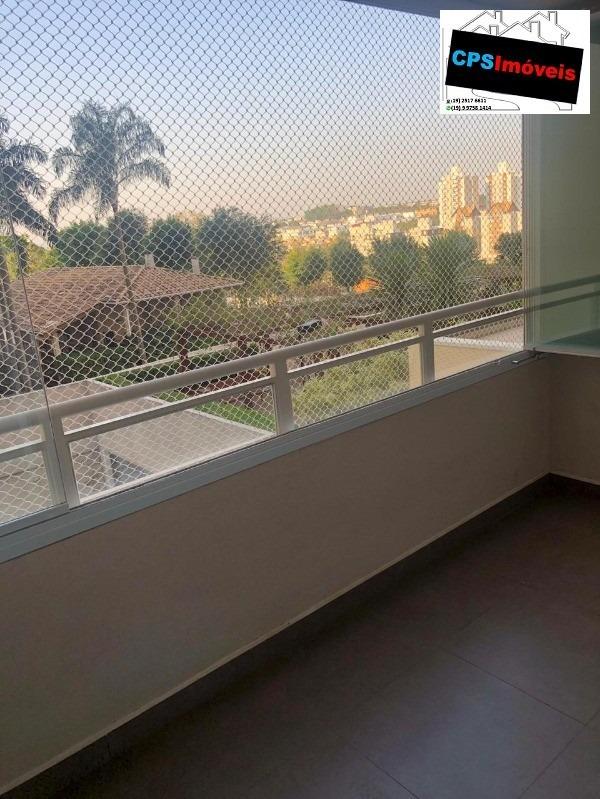 excelente apartamento no residencial fatto mansões em campinas - sp - ap00418 - 34385270