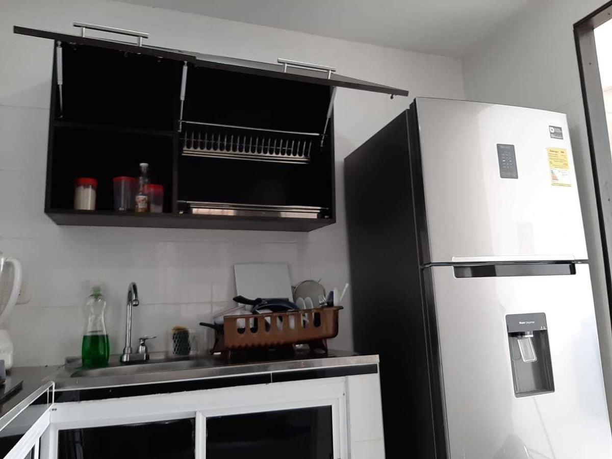 excelente apartamento nueven conjunto cerrado, segundo piso.