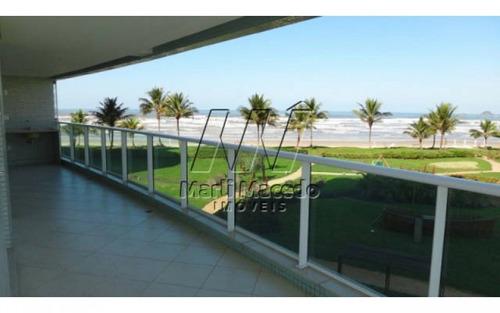 excelente apartamento pé na areia alto padrão  módulo 8