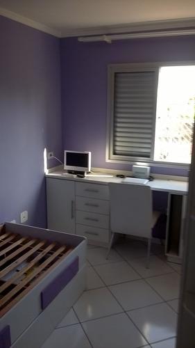 excelente apartamento próximo a faculdade de medicina do abc - 3641