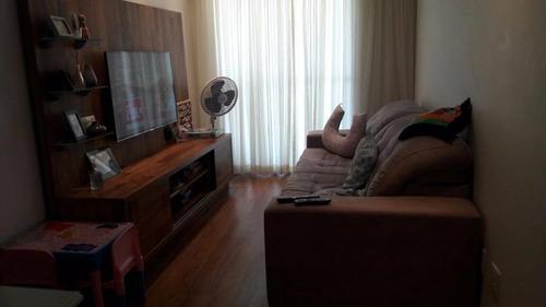 excelente apto 2 dorms. (1 suíte) + churrasqueira na varanda!!! - ap0763