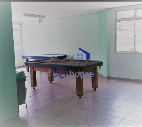 excelente apto com 3 dorms no parque marajoara-santo andré - 4893