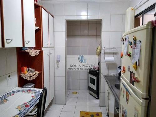excelente apto garden com 95m², 3 dormitórios - gd0008