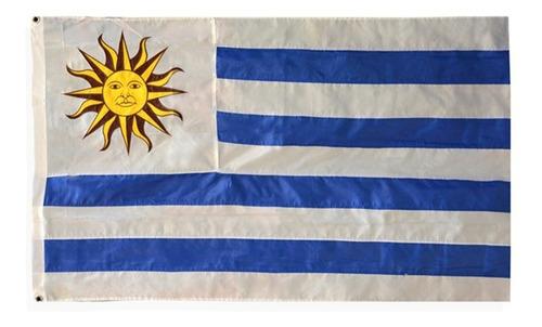 excelente bandera nautica uruguay reglamentaria 20x30 cms