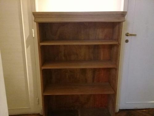 excelente! biblioteca clásica de cedro macizo